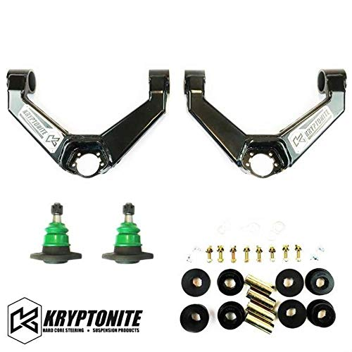 Kryptonite Upper Control Arm Kit For 2011-2018 Chevy GMC 2500HD 3500HD Pickup