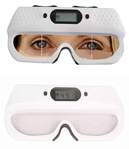 TOPCHANCES Optical Digital PD Ruler Pupilometer Interpupillary Distance Scale with Memory Function