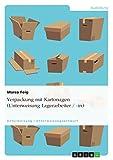 Verpackung mit Kartonagen (Unterweisung Lagerarbeiter / -in)