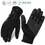 Fahrradhandschuhe männer winter wasserdicht Fahrrad Handschuhe Herren Damen Touchscreen Handschuhe