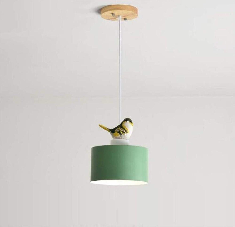 Deckenleuchten Nordischen Stil Grüne Vogel Kronleuchter Einfache Moderne Zeitgenssische Restaurant Schlafzimmer Einzigen Kopf Kronleuchter Kreative Seltsame Bar Flur Lampe