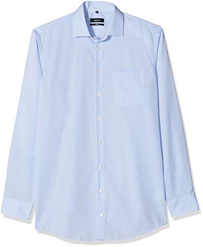 Seidensticker Herren Businesshemd Comfort Extra Langer Arm mit Kent Kragen Bügelfrei , Blau (Hellblau 15) , XX-Large (Herstellergröße: 45)