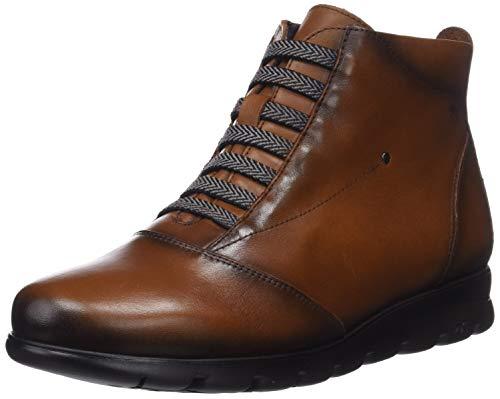 Fluchos Susan, Zapatos de Cordones Derby para Mujer, Marrón (Sugar Cuero Cuero), 38 EU