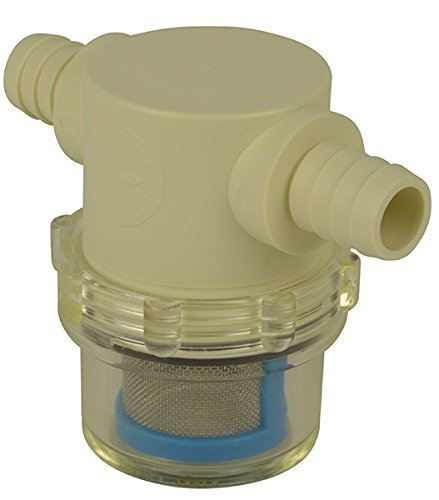 "1/2"" Hose Barb in-Line Strainer with 50 mesh Stainless Steel Filter Screen"