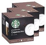 Starbucks Nescafé Dolce Gusto Juego de 3 cápsulas de café, 3 x 12 cápsulas