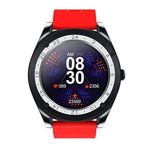 Relojes de pulsera Reloj Inteligente, Rastreador de Actividad Física con Pantalla Táctil de 1,54 Pulgadas, Podómetro Deportivo Impermeable para Hombres Y Mujeres, Compatible para Teléfonos IPhone con