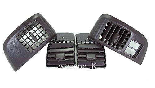 Air Vent Ventilator Trim Full Set For Isuzu D-max Dmax / Holden Rodeo Pickup / RA / UTE Pickup 2002 2003 2004 2005 2006