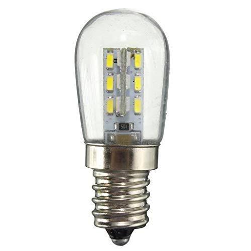 Lampadina del LED E14 della vite bocca calda luce bianca ad alta luminosità paralume di vetro puro caldo bianco della lampada for cucire Frigorifero 220V