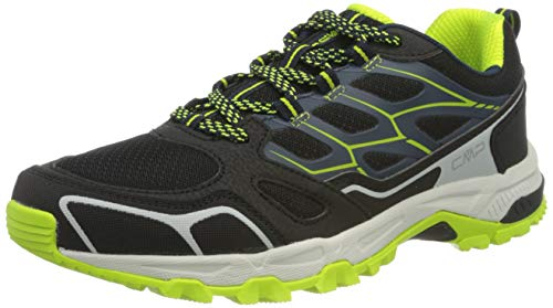 CMP Shoe, Zapatilla Zaniah Trail Hombre, Negro/Cosmo, 46 EU