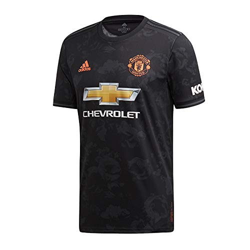 adidas MUFC 3 JSY T-Shirt Homme Black FR: S (Taille Fabricant: S)