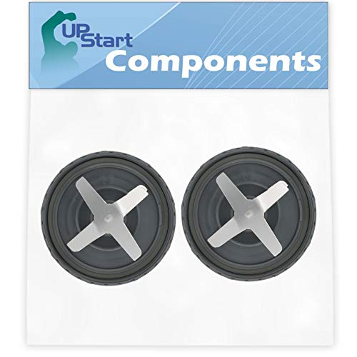 2 Pack UpStart Components Replacement Cross Blade Extractor Blade Compatible with NutriBullet Pro 900w Blender