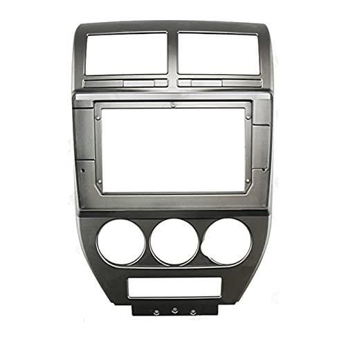 WANGYOU 10.1 Pulgadas Audio Audio Fasxia Frame Fascia, Navegación GPS Panel de Fascia Ajuste para Jeep Compass 2007-2009 Lasting (Color Name : As Shown)