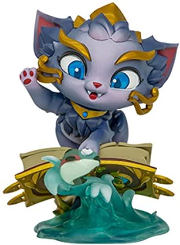 Anime Regalo Anime Modelo Muñeca LOL League of Legends Magic Cat Yumi Game Juego Periféricos Juguete Acción Figura Escultura 10cm