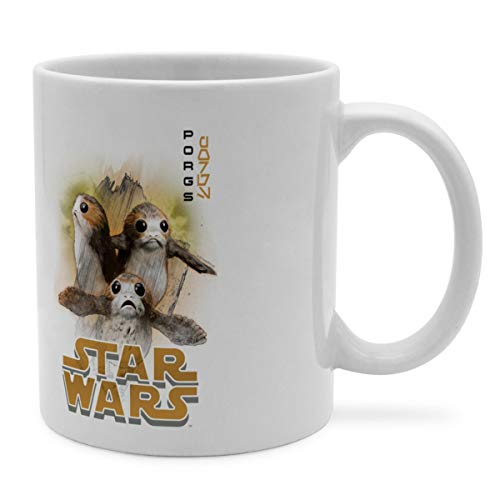 PhotoFancy Tasse Star Wars mit Namen personalisiert - Design PORG Last Jedi