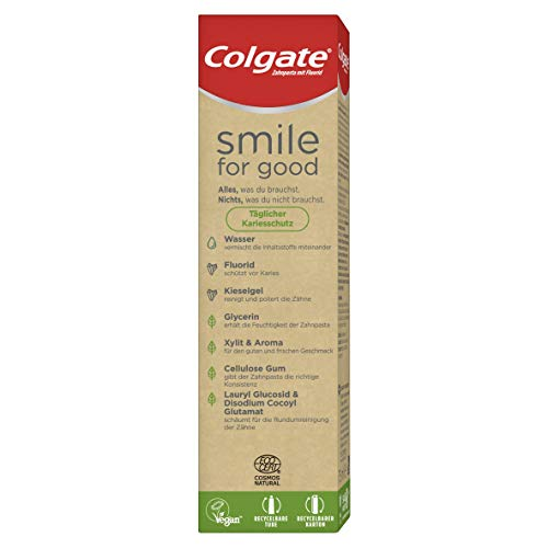 Colgate Smile for Good Täglicher Kariesschutz Zahnpasta, 75 ml