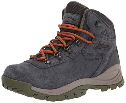 Columbia Newton Ridge Plus Waterproof Amped, Zapatos para Senderismo Mujer, Verde, 43 EU