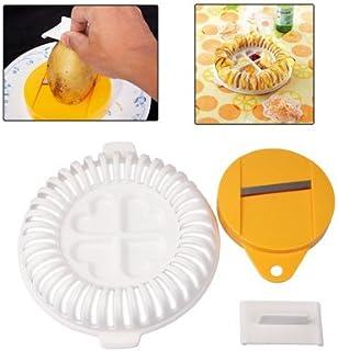 Tapis de cuisson et plaque à pâtisserie JRC bricolage micro-ondes au four de pommes de terre frites maison Maker Device Ma...