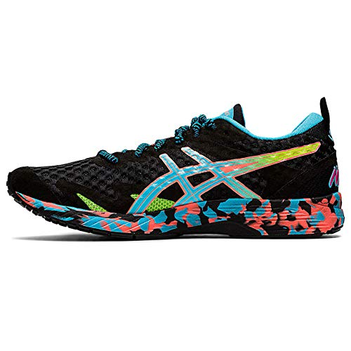 ASICS Damen Gel-Noosa Tri 12 Running Shoe, Black/Aquarium, 39.5 EU