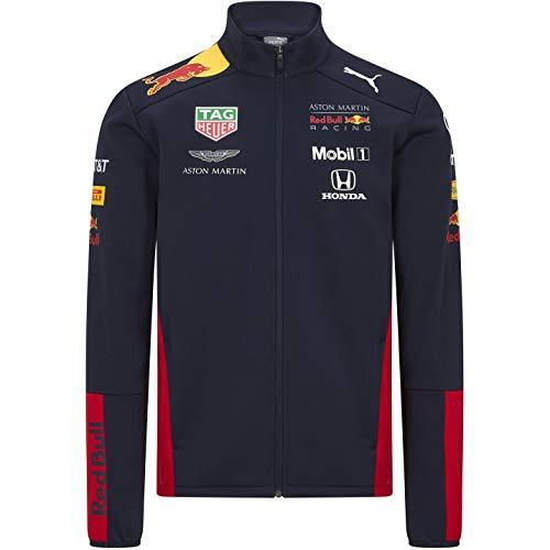 Red Bull Racing F1 2020 Men's Team Softshell Jacket in Navy (M)