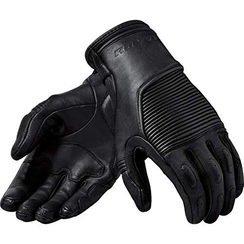 REV'IT! Motorradhandschuhe kurz Motorrad Handschuh Bastille Handschuh schwarz XXL, Herren, Chopper/Cruiser, Ganzjährig, Leder