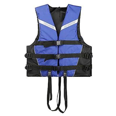 CoutureBridal Adults Life Jacket Adjustable Side Buckle Kayak Aid Vest for Women, Men Buoyancy Fishing Boat Watersport