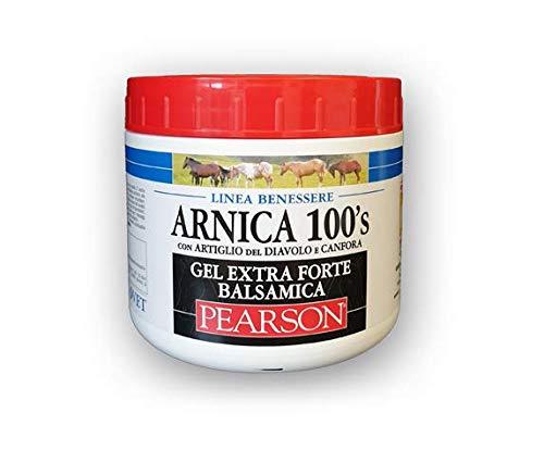 GUGLIELMO PEARSON ARNICA 100 ' S GEL EXTRAFORTE BALSAMICA CON ARTIGLIO DEL DIAVOLO 500 GR