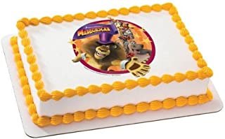 1/4 Sheet ~ Madagascar 3 Alex & Friends Birthday ~ Edible Image Cake/Cupcake Topper!!!