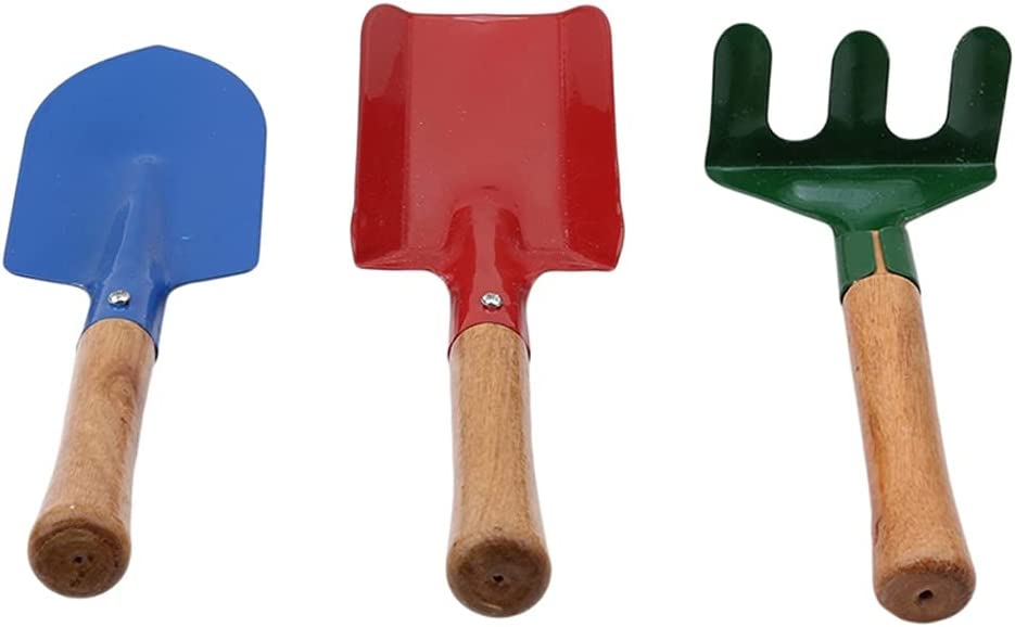 FENXIXI Colorful Cultivating Plant Challenge the lowest price Garden Luxury goods Set Shovel Tools Rake