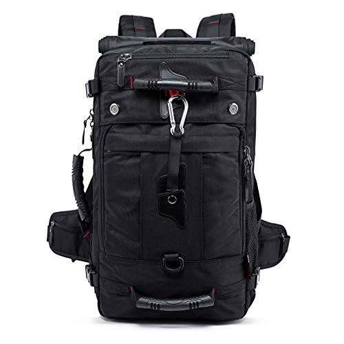 Rucksack Kompatibel für Freizeit Reise Arbeit Sport Trekking Bagtecs HK2 35 L schwarz