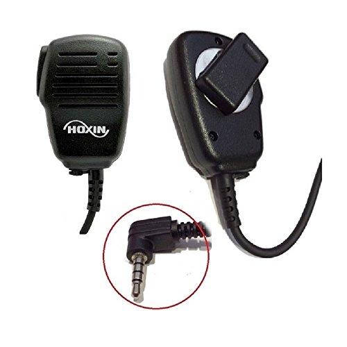 HOXIN EM-3600Y Microfono/altoparlante con PTT e connettore ad L per Yaesu VX-3/2/FT-60