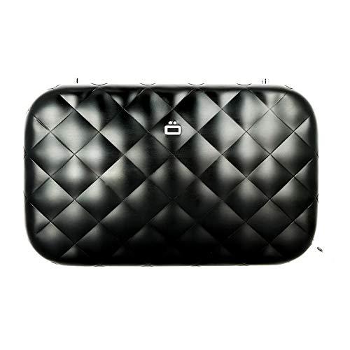Ögon Smart Wallets - Quilted Lady Bag - Tasche in Aluminium - RFID-Blockierung