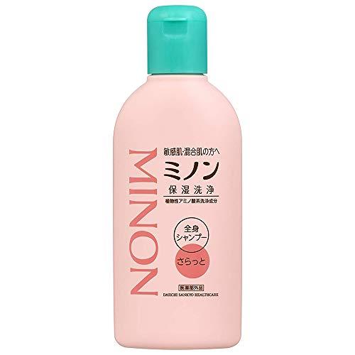 Minon Full Body Shampoo - 120ml - Smoothly (Green Tea Set)