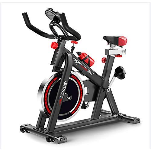 XER La Bici de Ciclo Indoor, Silent Ciclo de la Bici con la Correa de transmisión Ajustable Manillar y Asiento, la Aptitud Bici Y AB Trainer, Equipamiento Deportivo, Ideal Cardio Trainer