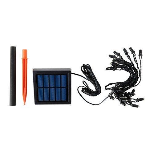 SOLARVET LEDライトチェーン 全24球, 屋外用, 太陽電池式 (102.996.41)