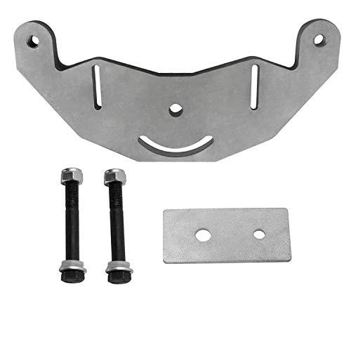 YANWEN Belt Grinder D-backing plate for 2x72' knife making grinder with bolt axles