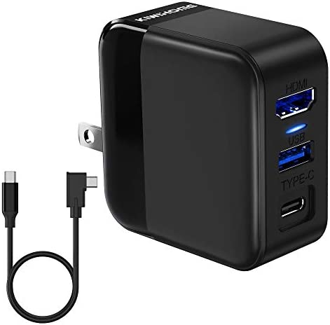 KIWIHOME AC Adapter Charger and TV Dock Combination Fit Nintendo Switch 3 in 1 Convert Dock product image