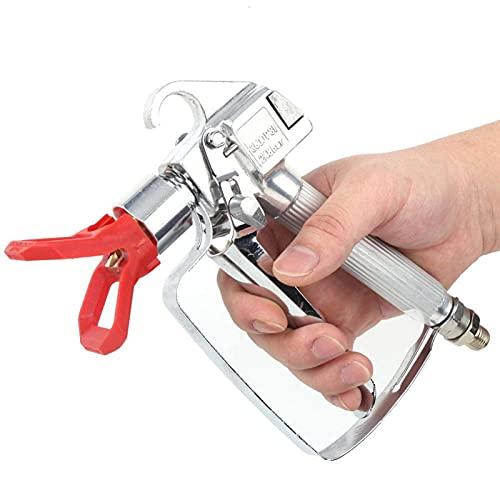 Spritzpistole mit roten Düsenluftbürsten zum Lackieren von Aluminium für Graco Wagner Sprayer(Spray gun + red nozzle)