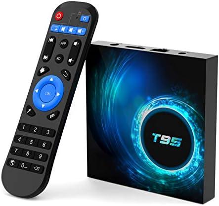 T95 Android tv Box 10 0 Allwinner H616 Quad core 4GB RAM 128GB ROM Smart Android Stream Box product image