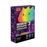 BDWN El Super Juego Unstable Unicorns Rainbow Apocalipsis Paquete de expansión Unicornios inestables Juegos de Cartas de mazo Juego de Cartas de Estrategia para Adultos y Adolescentes Juego de Mesa