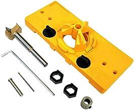 WOVELOT Scharnier Boren Tool 35mm Verborgen Scharnier Jig Kit voor Kabinet Deur Installatie Deur Scharnier Jig