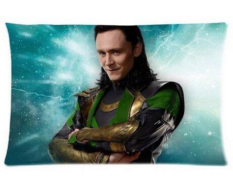 Smiling Loki Pillowcases Custom 20'x30' Two Sides...