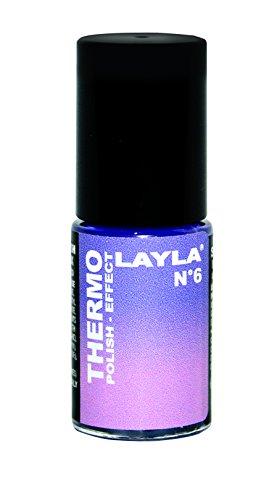 Layla Cosmetics Thermo Polish Effect N.6 Nagellack, 1 Stück