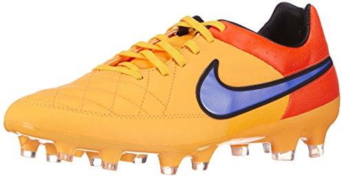Nike Herren Tiempo Legacy FG Fußballschuhe, Orange (LSR Orng/PRSN VLT-TTL Orng-VLT 858), 46 EU