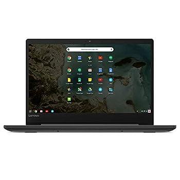 Lenovo Chromebook S330 14in Laptop Computer Mediatek MT8173C up to 1.7 Ghz 4GB RAM 32GB eMMC SSD Bluetooth HDMI USB-C SD Card Reader Chrome OS Black  Renewed