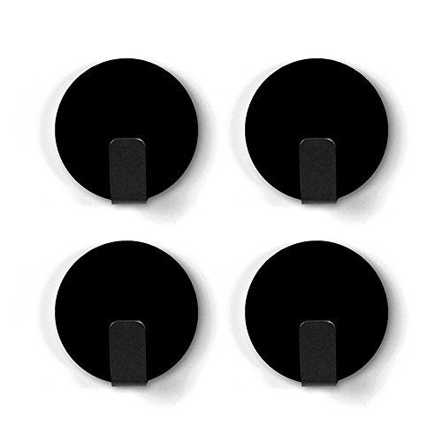 Trendform Anti-Rutsch Feste magnetische Stahlhaken - schwarz, Metall, Silver, 25 x 10 x 3 cm