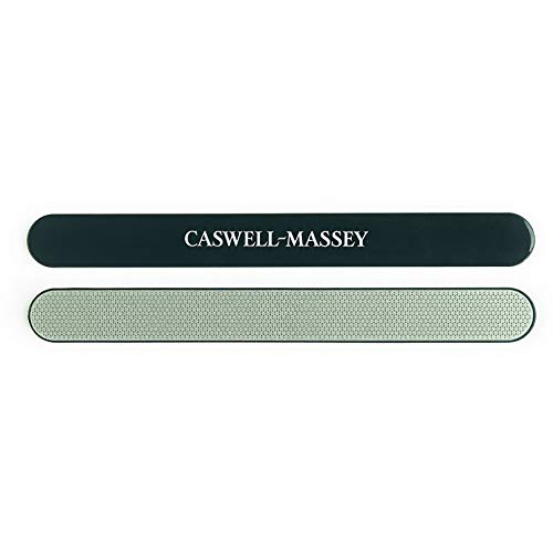 Caswell-Massey Diamond Nail File Crafted From Polished Steel is Durable & Lasts Longer – Professional Washable Nail Buffer – 7 Inches, 1 Emery Board for Natural Nails