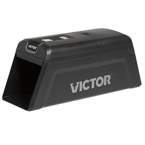 Victor M2 Indoor Smart-Kill Wi-Fi Electronic Rat Trap, 1 Pack, Black