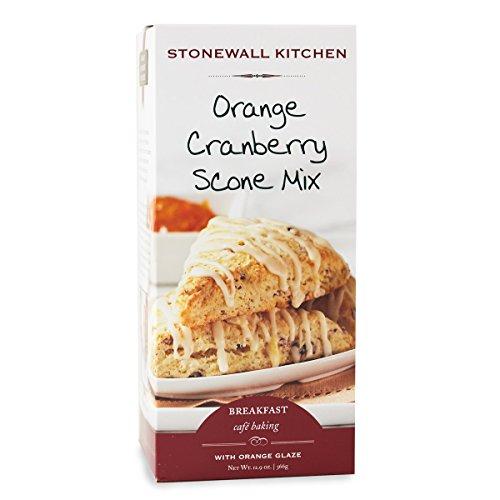 Stonewall Kitchen Orange Cranberry Scone Mix, 12.9 Ounces