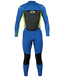 Ideal full length spring/summer wetsuit - 3 mm foam SBR CR neoprene on the body and 2 mm under the arms for full range of motion Entirely flat locked seams and ergonomic panelling for maximum comfort - high quality flexible wetsuit provides high free...