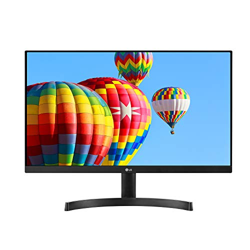 LG 24MK600M-B 24'' Full HD (1920 x 1080) IPS Display with 3-Side Virtually Borderless Design and Radeon FreeSync Technology and Dual HDMI, Black